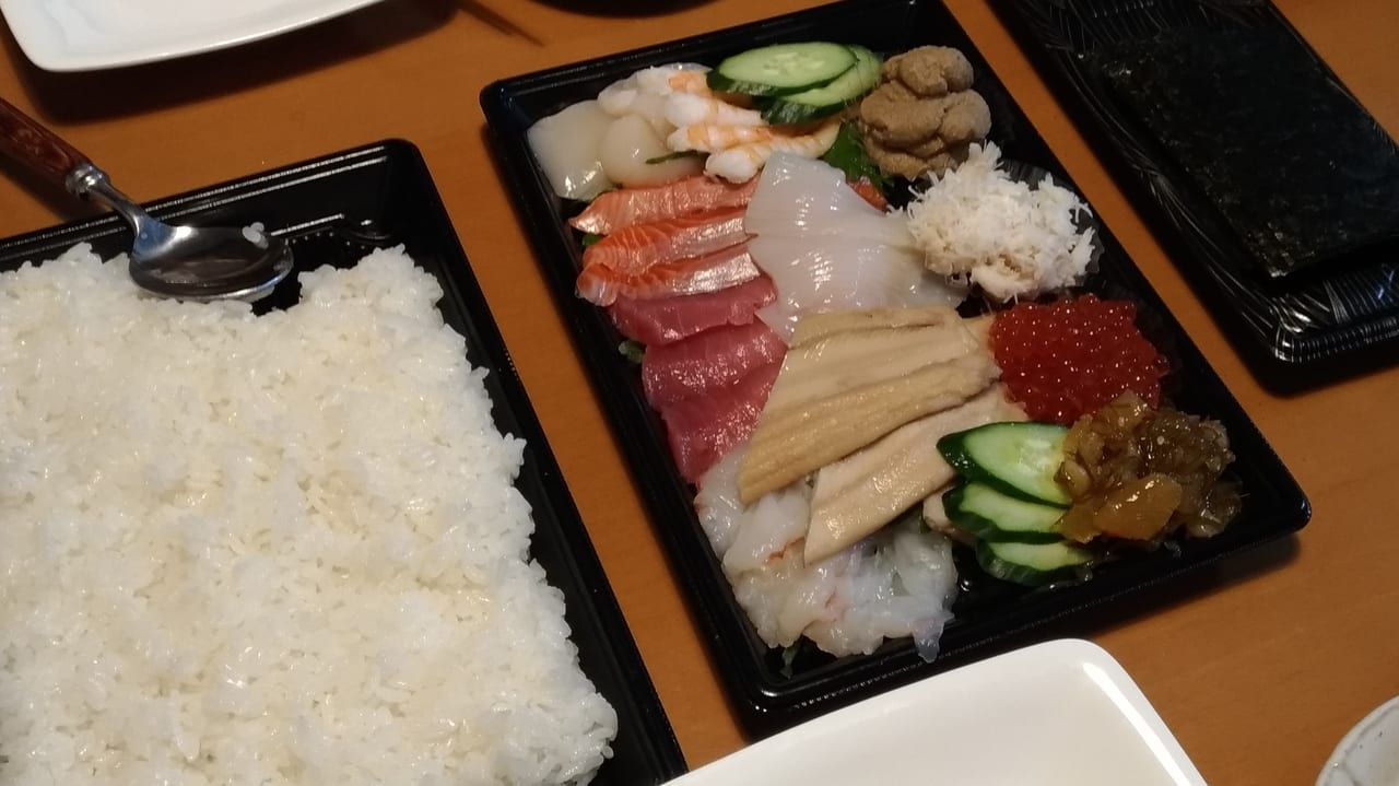 スシローの手巻き寿司セット